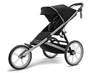 Thule Glide 2 wózek do joggingu spacerówka kolor Jet Black 2021  KURIER GRATIS