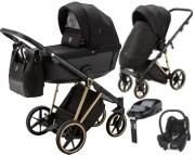 Adamex Belissa Special Edition 4w1 ( spacerówka + gondola + Maxi Cosi Cabrio + baza familyfix ) 2021 KURIER GRATIS