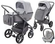 Adamex Reggio 3w1 (spacerówka + gondola + fotelik Maxi Cosi Cabriofix) 2019 KURIER GRATIS
