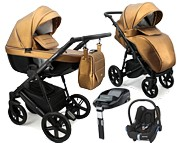 Adbor Texas 4w1 (spacerówka + gondola + fotelik Cabrio + baza Familyfix) 2021 KURIER GRATIS