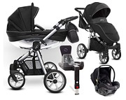 BabyActive Mommy Glossy 4w1 (spacerówka + gondola + Avionaut Pixel + baza IQ) 2020 / KURIER GRATIS