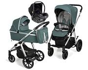 Baby Design Bueno New 3w1 (spacerówka + gondola + fotelik Avionaut Pixel) 2021 KURIER GRATIS