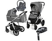 Baby Design Bueno New 4w1 (spacerówka + gondola + fotelik Maxi Cosi Cabrio + baza Familyfix) 2021 KURIER GRATIS