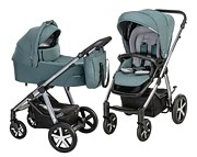 Baby Design Husky 2w1 (spacerówka + gondola + winterpack) 2021 KURIER GRATIS
