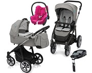 Baby Design Lupo Comfort Limited Edition (spac.+ gond.+ fot. Cabrio + baza Familyfix)2018 KURIER GRATIS*