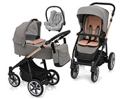 3w1 Baby Design Lupo Comfort Limited Edition (spacer.+gond.+ fotelik Maxi Cosi Cabrio)2018  KURIER GRATIS*