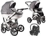 Baby Merc Faster 3 Style 3w1 (spacerówka + gondola + fotelik Maxi Cosi Cabrio ) 2021 KURIER GRATIS