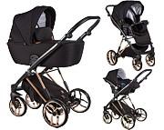 Baby Merc La Rosa 3w1 Limited Edition (spacerówka + gondola + fotelik z adapterem) 2021 KURIER GRATIS