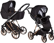 Baby Merc La Rosa 2w1 Limited Edition (spacerówka + gondola) 2021 KURIER GRATIS