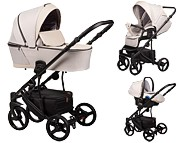 Baby Merc Novis 3w1 (spacerówka + gondola + fotelik z adapterem) 2021 KURIER GRATIS