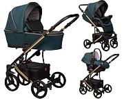 Baby Merc Novis 3w1 Limited Edition (spacerówka + gondola + fotelik z adapterem) 2021 KURIER GRATIS