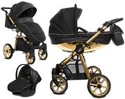 BabyActive Mommy Glossy 3w1 (spacerówka + gondola + fotelik Kite z adapterem) 2020 KURIER GRATIS