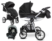 BabyActive Mommy Glossy 3w1 (spacerówka + gondola + fotelik Nania Beone z adapterem) 2020 KURIER GRATIS