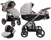 BabyActive Mommy 3w1 (spacerówka + gondola + fotelik Kite z adapterem) 2019 KURIER GRATIS