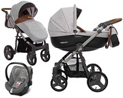 BabyActive Mommy 3w1 (spacerówka + gondola + fotelik Cybex Aton 5) 2019 KURIER GRATIS