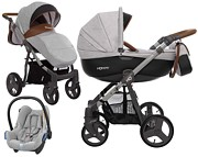 BabyActive Mommy 3w1 (spacerówka + gondola + fotelik Maxi Cosi Cabriofix) 2019 KURIER GRATIS