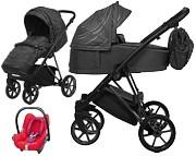 BabyActive Musse Boss 3w1 (spacerówka + gondola + fotelik Maxi Cosi Cabriofix red orchid) 2020 KURIER GRATIS