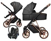 BabyActive Musse Royal 3w1 (spacerówka + gondola + fotelik Maxi Cosi Cabrio) 2021 KURIER GRATIS