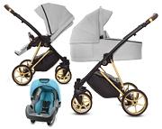 BabyActive Musse Ultra 3w1 (spacerówka + gondola + fotelik Nania Beone z adapterem) 2020 KURIER GRATIS