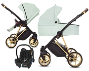 BabyActive Musse Ultra 3w1 (spacerówka + gondola + fotelik Maxi Cosi Cabriofix) 2020 KURIER GRATIS