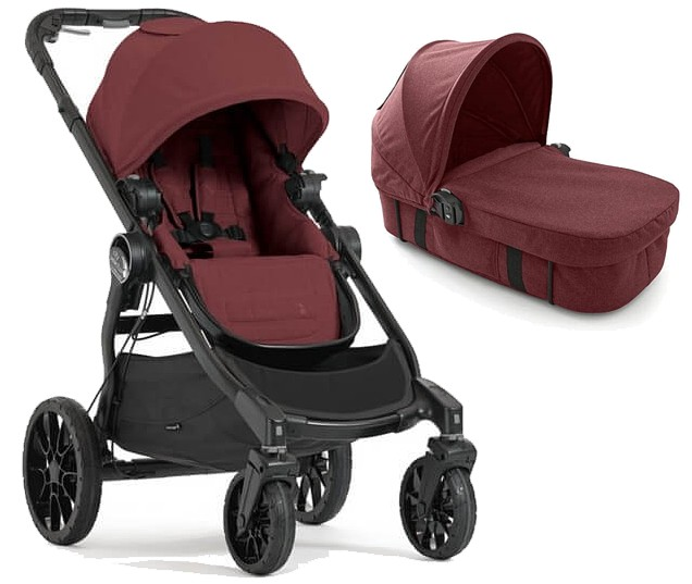 PROMOCJA! Baby Jogger City Select Lux 2w1 (spacerówka + gondola Bassinet Kit) Port 2019 GRATIS KURIER
