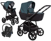 Baby Merc La Noche 3w1 (spacerówka + gondola + fotelik Maxi Cosi Cabriofix) 2021 KURIER GRATIS