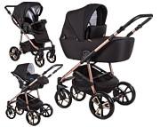Baby Merc La Noche Limited Edition 3w1 (spacerówka + gondola + fotelik Carlo z adapterem) 2021 KURIER GRATIS