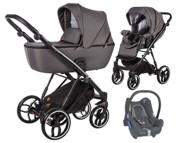 Baby Merc La Rosa 3w1 (spacerówka + gondola + fotelik Maxi Cosi Cabriofix) 2021 KURIER GRATIS
