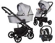Baby Merc Mosca 3w1 (spacerówka + gondola + fotelik Maxi Cosi Cabriofix) 2021 KURIER GRATIS
