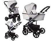 Baby Merc Mosca 3w1 (spacerówka + gondola + fotelik samochodowy Carlo z adapterem) 2021 KURIER GRATIS