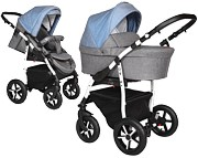 Wózek Baby Merc Q9 Plus  (spacerówka + gondola) 2019