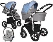 3w1 wózek Baby Merc Q9 Plus  (spacerówka + gondola+ fotelik Maxi Cosi Cabrio) 2019 KURIER GRATIS