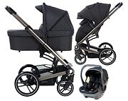 BabySafe Lucky 3w1 (spacerówka + gondola + fotelik York) KURIER GRATIS 2021