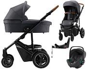 Britax Smile III 4w1 (spacerówka + gondola + fotelik Baby-Safe 3 + baza isofix Flex) 2021 KURIER GRATIS