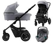 Britax Smile III 3w1 (spacerówka + gondola + fotelik Baby-Safe 3 ) 2021 KURIER GRATIS