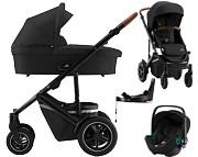 Britax Smile III 4w1 (spacerówka + gondola + fotelik Baby-Safe iSense + baza isofix Flex) 2021 KURIER GRATIS