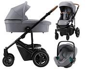 Britax Smile III 3w1 (spacerówka + gondola + fotelik Baby-Safe iSense) 2021 KURIER GRATIS