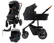 Britax Smile III 4w1 (spacerówka + gondola + fotelik Baby-Safe iSense + baza Flex isense) Special Edition 2021 KURIER GRATIS