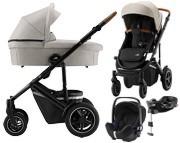 Britax Smile III(spacerówka+gondola+fotelik Britax Baby-Safe2+baza isofixFlex i-size)Zestaw Comfort Plus Dostawa w czerwcu 2020