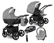 Camarelo Baleo 4w1 (spacerówka + gondola + fotelik Maxi Cosi Cabrio + baza Familyfix) 2019 KURIER GRATIS