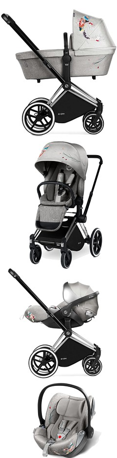 3w1 Cybex Priam Fashion Edition KOI 2018 (spacerówka LUX+ gondola+ fotelik Cloud Q) KURIER GRATIS