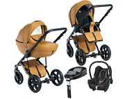 Wózek 4w1 Dada Paradiso Max 500 (spacerówka + gondola + fotelik Maxi Cosi Cabrio + baza Familyfix) 2018/2019  KURIER GRATIS