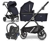Euro-Cart Crox Pro (spacerówka + gondola + fotelik Maxi Cosi Cabrio) 2021 KURIER GRATIS