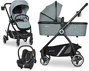 Euro-Cart Crox 3w1 (spacerówka + gondola + fotelik Maxi Cosi Cabriofix) 2020 KURIER GRATIS