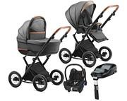 Jedo Bartatina 4w1 (spacerówka + gondola + fotelik Maxi Cosi Cabrio + baza Familyfix) koła 12 2020 / KURIER GRATIS