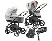 Jedo Tamel T-Line 4w1 (spacerówka + gondola + fotelik Maxi Cosi Cabrio + baza Familyfix) 2021 KURIER GRATIS