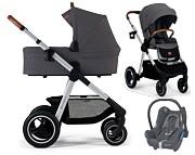 Kinderkraft Everyday 3w1 (spacerówka + gondola + fotelik Cabrio) 2021 KURIER GRATIS. Dostępny od września 2021r.