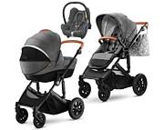 Kinderkraft Prime 3w1 (spacerówka + gondola +  fotelik Maxi Cosi Cabriofix) 2020 KURIER GRATIS