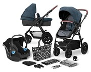 Kinderkraft XMOOV 3w1 (spacerówka + gondola + fotelik Mink + adaptery) 2020 KURIER GRATIS
