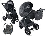 Krasnal BabyFIL 3w1 (spacerówka + gondola + fotelik Maxi Cosi Cabriofix) 2019 KURIER GRATIS